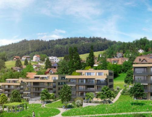 Wohnüberbauung Ahornpark, Uznach